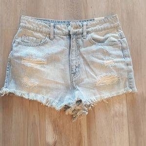 Womens BDG super high rise cheeky shorts